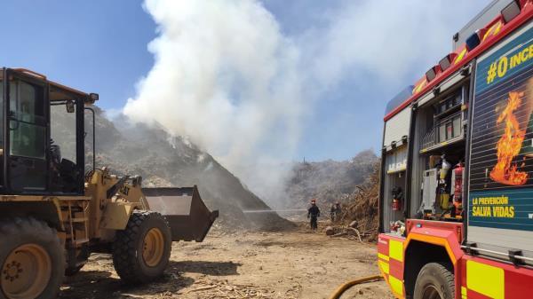 El incendio no ha dejado heridos ni intoxicados