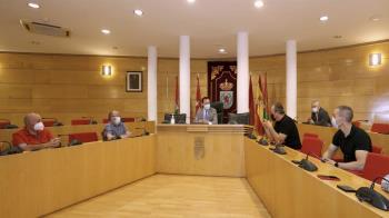 El Ayuntamiento de Coslada se ha reunido con la plantilla para mostrarles su apoyo