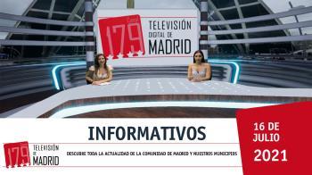 Despide la semana en Televisión de Madrid para mantenerte al tanto de la actualidad local y regional