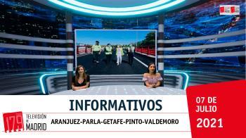 Repasamos la actualidad de nuestros municipios en Televisión de Madrid