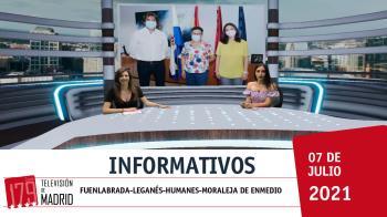 Alcanzamos la mitad de la semana, repasando toda la información local en Televisión de Madrid