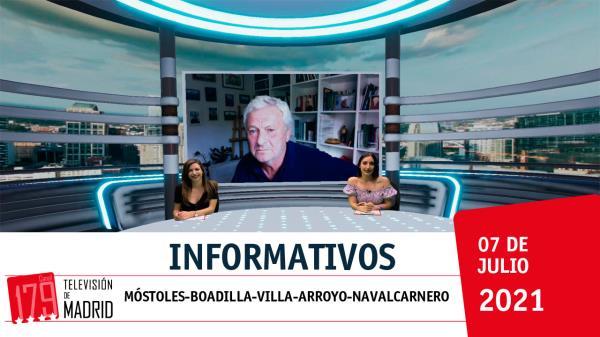 Informativo: Alcorcón, Las Rozas, Majadahonda, Pozuelo de Alarcón y Collado Villalba
