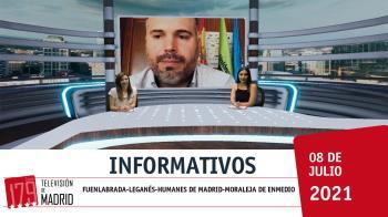 ¡Ya es jueves! Llega al fin de semana bien informado con los informativos de Televisión de Madrid