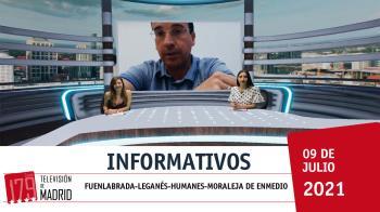 Llegamos al viernes, repasando toda la información local en Televisión de Madrid