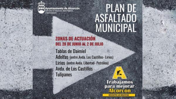 El ayuntamiento indicará, semana  a semana, qué calles se ven afectadas por las obras