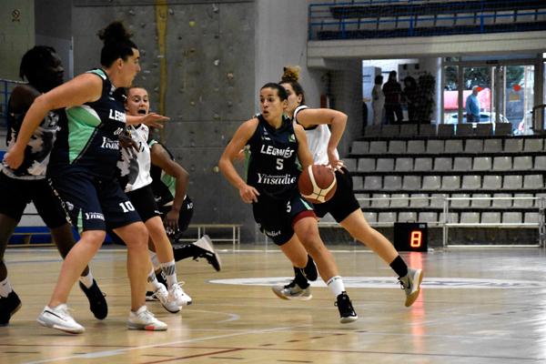 Las leganenses ganaron al Fustecma Nou Basquet en el debut liguero en el Europa