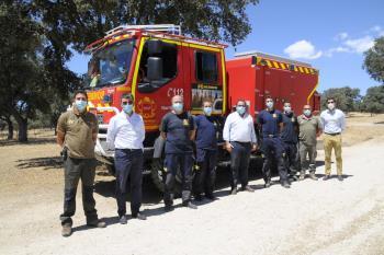 Este equipo de la Comunidad de Madrid ya se encuentra en el municipio