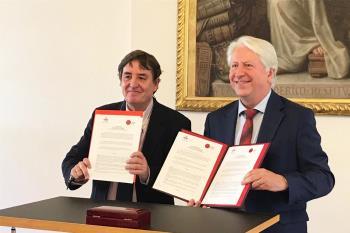El acuerdo de colaboración ha sido firmado hoy por ambos