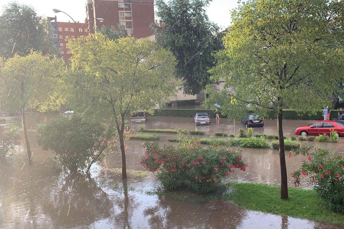 Las lluvias de verano vuelven a inundar nuestra ciudad