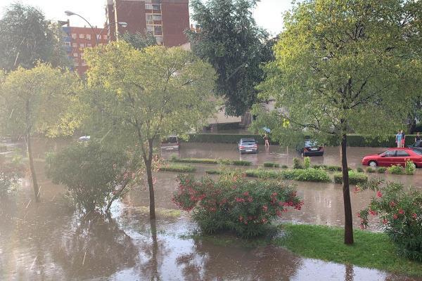 Ya están aquí las tradicionales inundaciones de Fuenla
