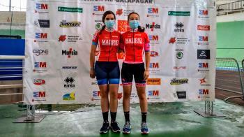 Junto a Irene del Puerto, Sara Antón logró el bronce en ambas pruebas