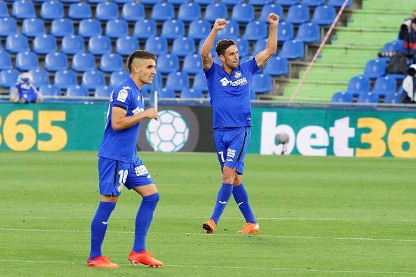 Jaime Mata dio los tres primeros puntos al Getafe
