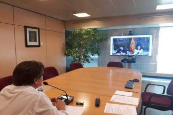 El regidor ha intervenido en calidad de presidente de la Comisión de Relaciones Internacionales de la FEMP