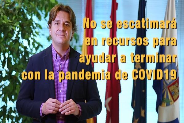 Javier Ayala ha escrito a Pedro Sánchez e Isabel Díaz Ayuso para poner a su disposición los espacios necesarios