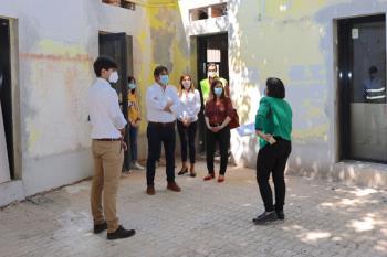 El espacio está siendo habilitado para la creación de dos talleres del proyecto MILMA