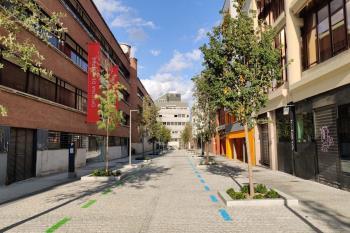 El costo de la reforma de la calle ha corrido a cuenta de Caledonian