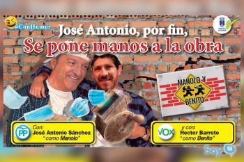 El Alcalde de Humanes de Madrid rectifica y distribuye mascarillas entre los alumnos y los profesores del municipio