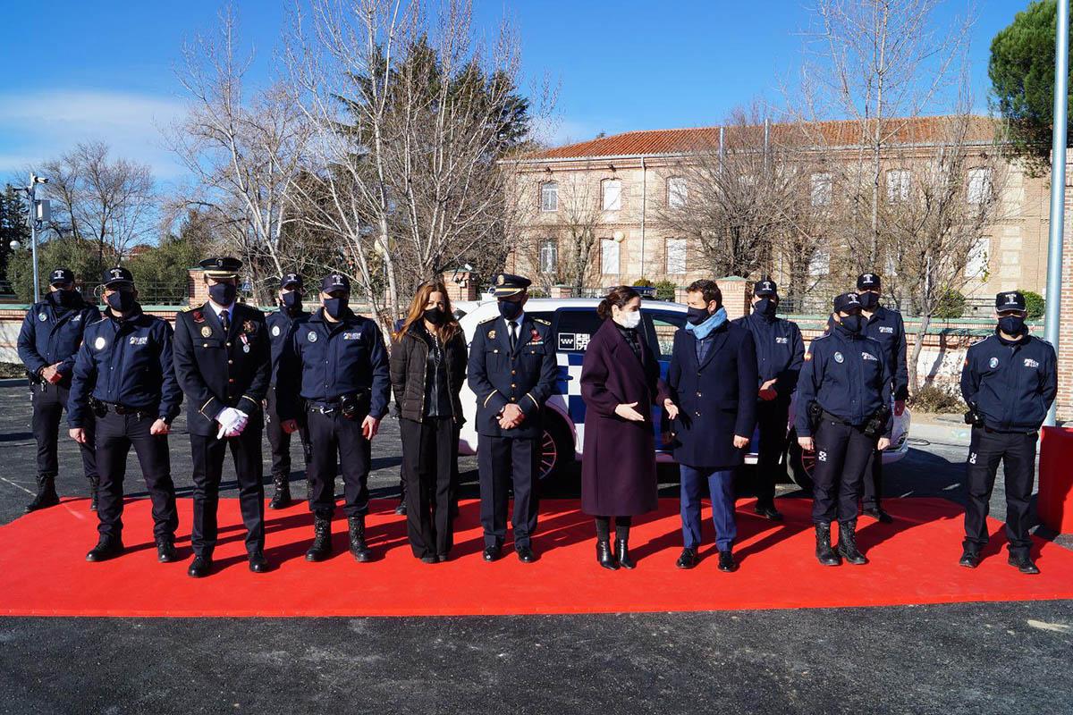 El título se otorgó en el acto de servicio celebrado en el Instituto de Formación Integral en Seguridad y Emergencias
