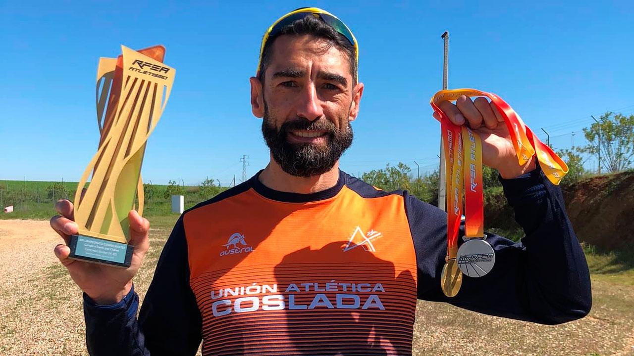 El atleta de Torrejón de Ardoz se ha proclamado Subcampeón de España en esta modalidad