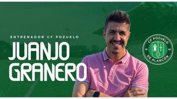 El CF Pozuelo ha renovado al técnico Juanjo Granero y seguirá intentando impulsar al club en busca de nuevos objetivos