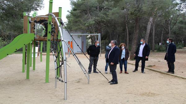 Arganda del Rey ha implantado nuevos juegos y mobiliario en la zona tras ser aprobado en los Presupuestos Participativos