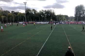 La AD Complutense sumó sus tres primeros puntos en un partido muy trabajado por los pupilos de Ernesto Gallardo