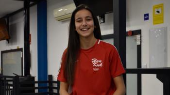 La taekwondista de 17 años ha conseguido una plaza para los Juegos Olímpicos