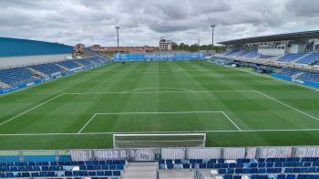 El consistorio ha aprobado la licitación de las obras del estadio del Fuenlabrada