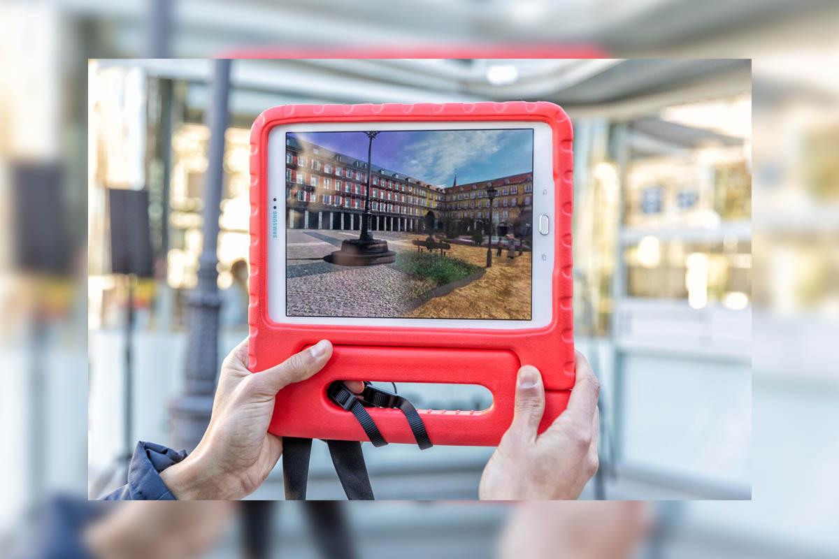 La aplicación propone un recorrido 360 grados a lo largo de la historia