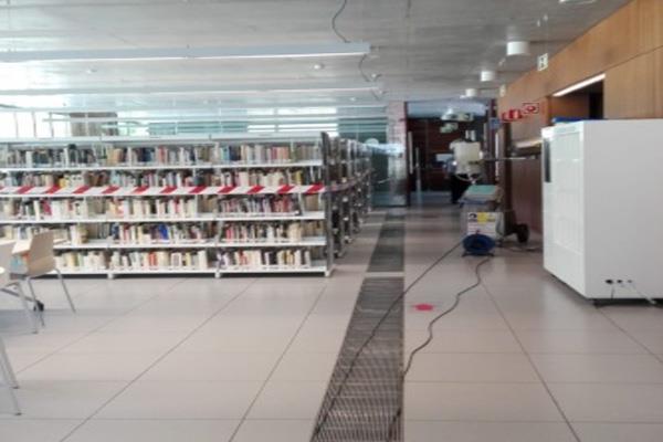 La Biblioteca Central de Coslada reabre sus puertas esta tarde