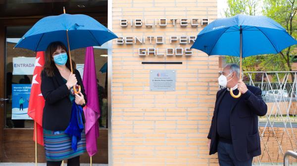 La Biblioteca Volturno de Pozuelo de Alarcón pasa a ser Benito Pérez Galdós
