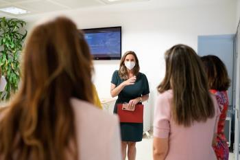 Paloma Martín, Consejera de Medioambiente, se reunió con la presidenta de la asociación sin ánimo de lucro Women Action Sustainability