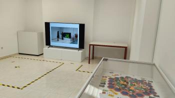 Las muestras pertenecen a los jóvenes artistas David Escarpa y Germán Blasco
