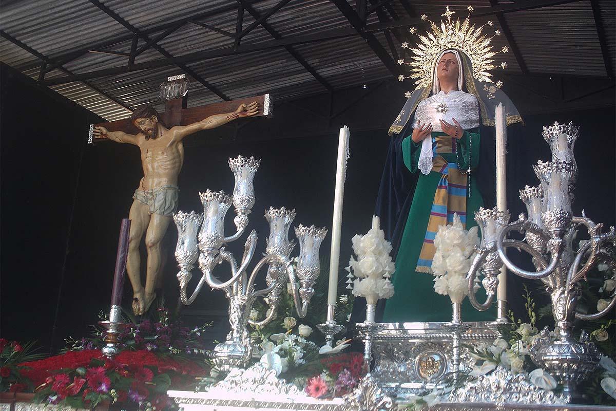 Este año las hermandades lo recordarán por no haberse podido celebrar los tradicionales pasos de Semana Santa