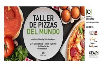 """En esta ocasión se trata de un taller de """"Pizzas del Mundo"""" para familias"""