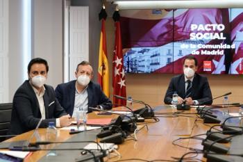 """Ignacio Aguado cree que """"no tiene sentido"""" mantenerlas con el calor"""