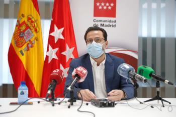 El consejero de Hacienda, Javier Fernández Lasquetty, hace balance económico del ejercicio