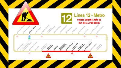 Lee toda la noticia 'La Comunidad de Madrid suspende el servicio de MetroSur'