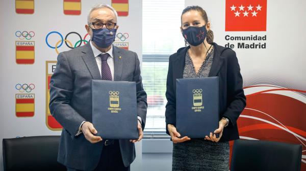 Entre ambas partes seguirán desarrollando el programa Todos Olímpicos