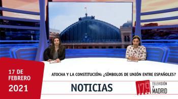 Aguado celebra que Atocha rinda homenaje a la Constitución y cree que ambas simbolizan encuentro y unión. Te lo contamos con un vídeo