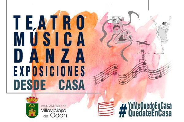 La cultura llega a casa: Villaviciosa de Odón presenta nueva programación para continuar en confinamiento