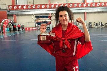 La joven promesa de nuestro municipio ha logrado el trofeo con la Selección de Madrid