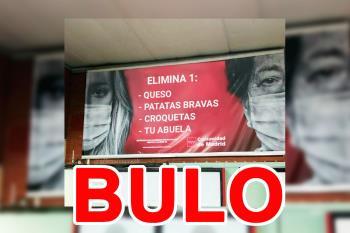 Se trata de modificaciones realizadas a los carteles puestos en Metro de Madrid