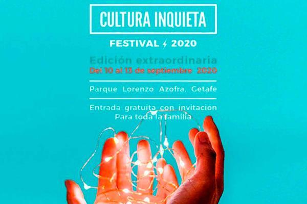 La edición especial del Festival Cultura Inquieta, cancelada