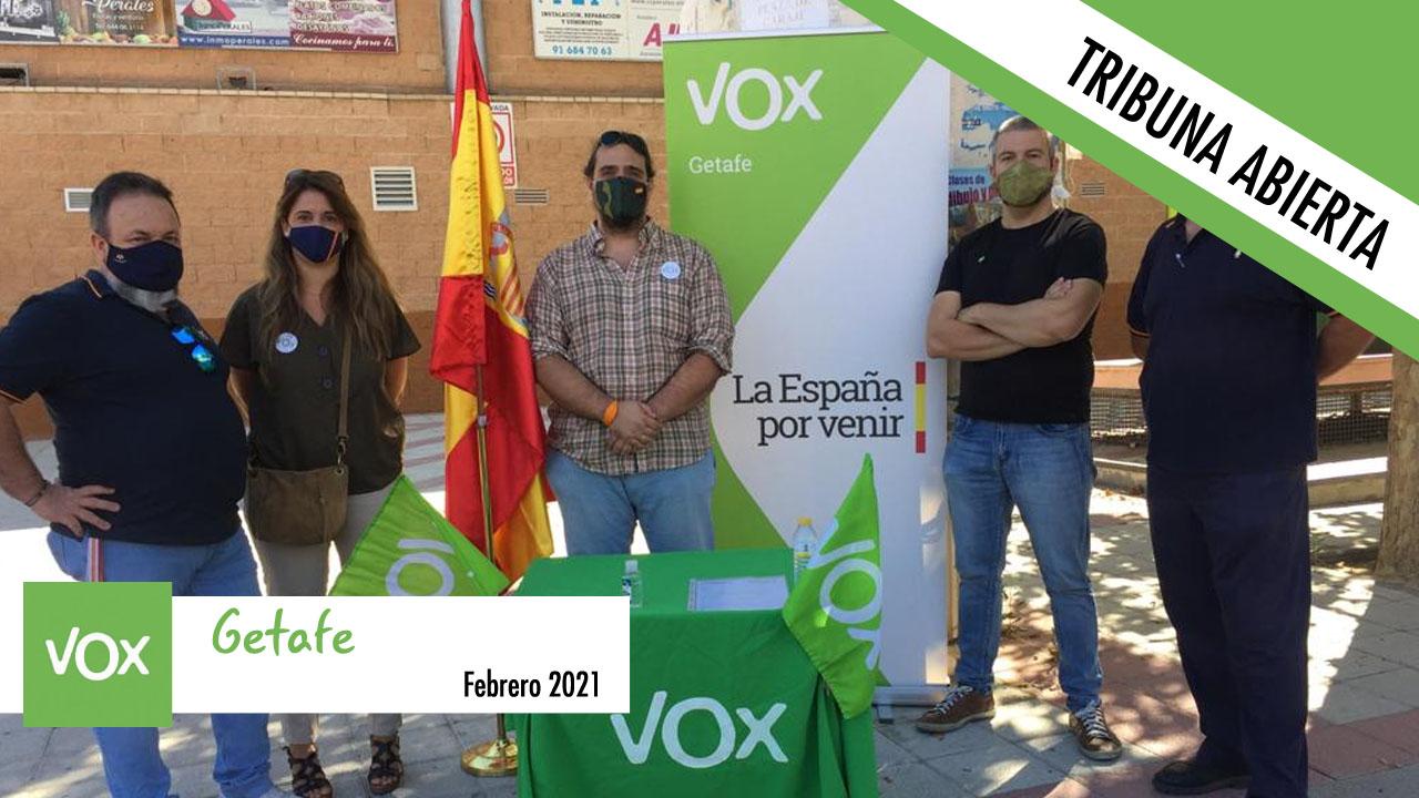 Tribuna abierta de VOX Getafe