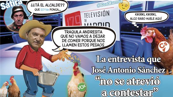 La entrevista que José Antonio Sánchez no se atrevió a contestar