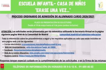 El próximo curso, la escuela ofrecerá una extensión de los servicios para las familias que lo soliciten