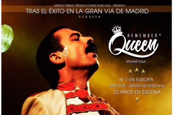 La esencia de Queen llega al Teatro Municipal Federico García Lorca