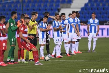 El Leganés empató a cero contra el Granada en Butarque