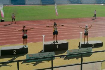 La atleta, perteneciente al Atletismo Alcorcón, fue la más rápido en los 5.000 marcha